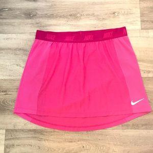 Nike golf skirt dri fit elastic waist pocket